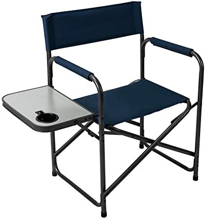 Pacific Pass Camping Directors Chair Folding...