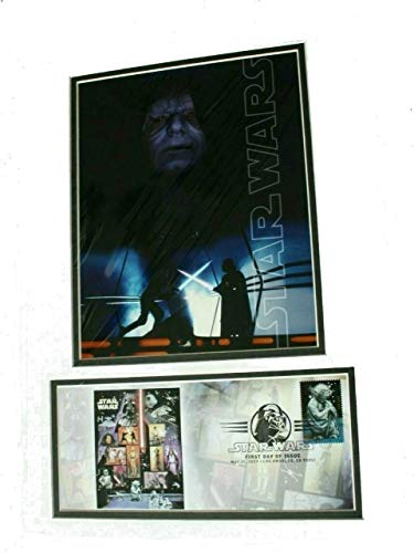 Star Wars Yoda First Day of Issue 2007 Stamp USPS - Emperor Palpatine Photo Cover