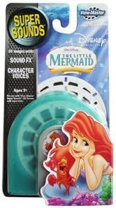 ViewMaster Disney Little Mermaid 3 Super Sounds Reels