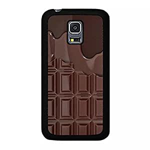 Samsung Galaxy S5 Mini Cell phone Case,Unique Chocolate Design Makeup Palette Phone Case Cover for Samsung Galaxy S5 Mini Hipster Cosmetics Style