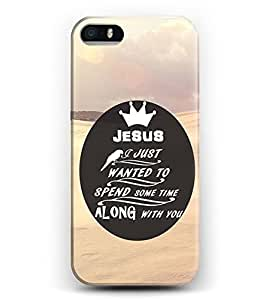 iphone 5c Case iDraw iphone 5c Hard Case -- Jesus I Just Wanted To Spend Some Time Along With You
