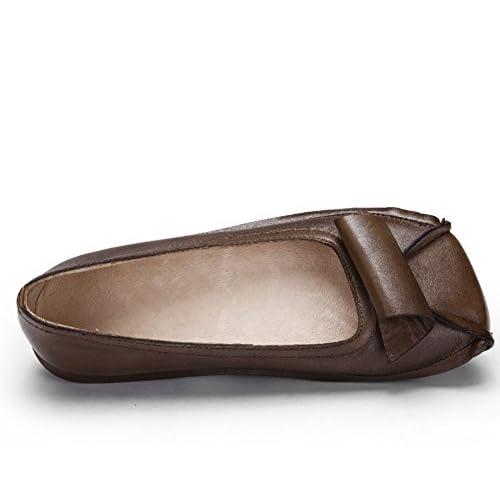 09e40d24 ... Zapatos De Temporada, Marrón / Gris, Casual Y Cómodo Suela De Goma  Antideslizante Transpirable, 35-40 Yardas ( Color : Marrón , Tama&nt 30% de  descuento
