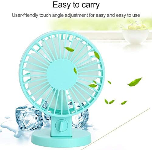 with 2 Speed Control Black Color : Black YXC Desk Fan USB 0.5W Portable Fan Desktop Electric Fan USB Fan