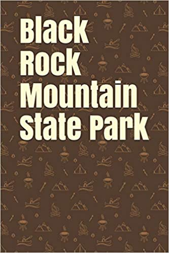 Black Rock Mountain State Park Blank Lined Journal For Georgia