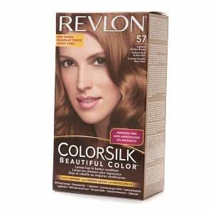 Amazon.com : Revlon Colorsilk Haircolor  57 Lightest Golden Brown Pack of 3 : Beauty