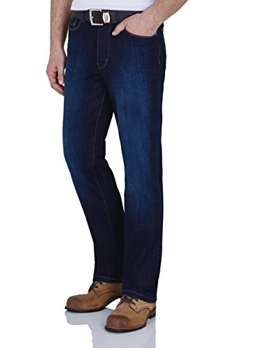 Paddock`s Herren Jeans Ranger - Slim Fit - Blau - Blue/Black Stone Soft Using, Größe:W 32 L 34;Farbe:Blue Dark Stone Soft Using (5426)