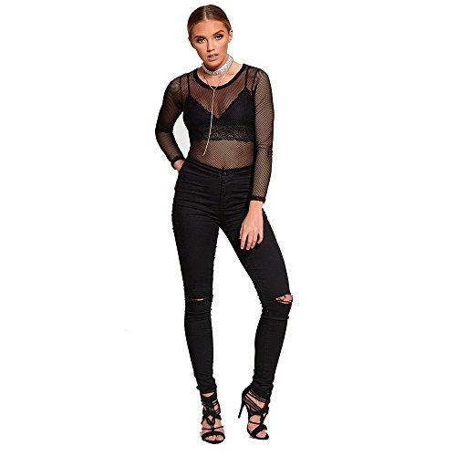 Genesis - Jeans - Femme 16919-Black