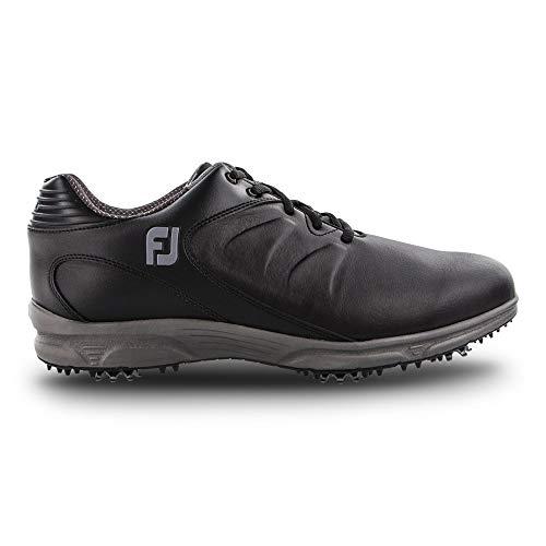 FootJoy Men's ARC XT Golf Shoes, Black, 14 W ()