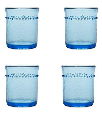Turquoise Medallion Melamine Tidbit Bowls, 4-Pack 3.5