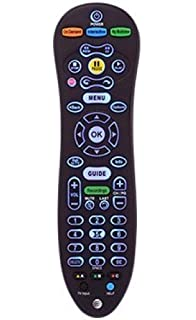 amazon genuine at t u verse uverse s10 s4 standard ir infrared Cox Cable Box at t u verse s30 universal remote control blue back light cy rc1057 at