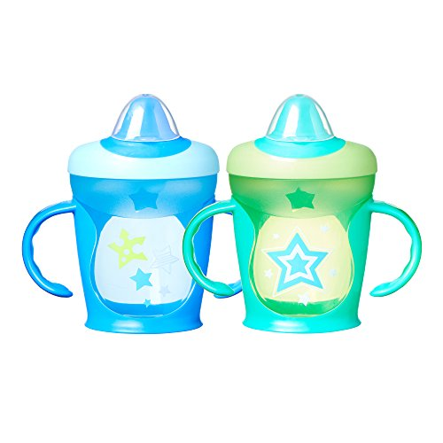 Tommee Tippee Hold Tight Trainer Sippee Cup, 9 oz., 2 Count (Colors will vary)