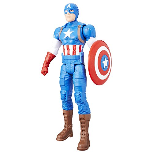 Captain+America Products : Marvel Titan Hero Series 12-inch Captain America Figure