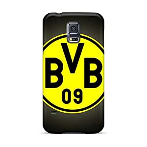 Bumper Cell-phone Hard Covers For Samsung Galaxy S5 With Support Your Personal Customized Fashion Borussia Dortmund Pictures LauraAdamicska