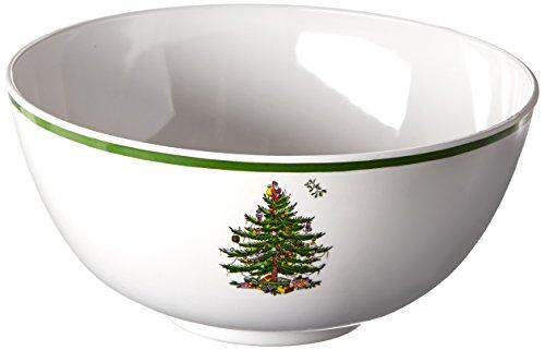 Spode Christmas Tree Melamine Deep Bowl