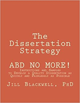 Dissertation strategy