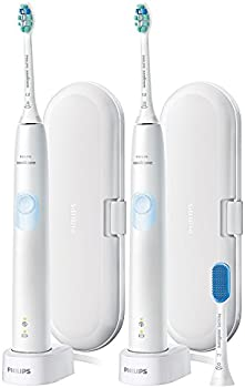 2-Pack Philips Sonicare ProtectiveClean 4300 Rechargeable Toothbrush