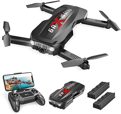 Holy Stone HS160 Pro Foldable Drone with 1080p HD WiFi Camera for Adults and Kids, Wide Angle FPV Live Video, App…