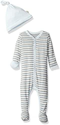 Burt's Bees Baby Baby Footed Coverall and Hat Set