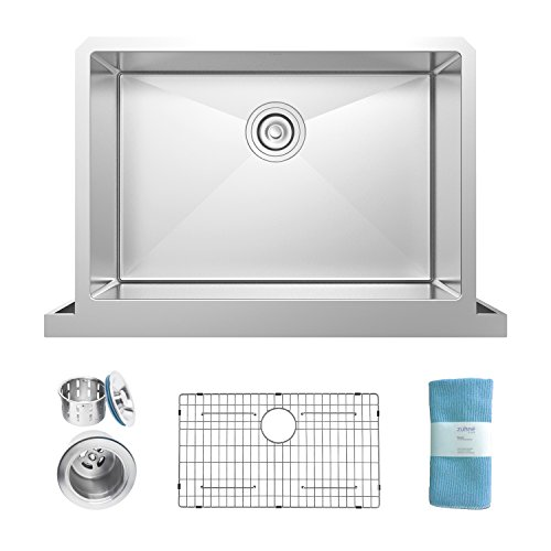 Single Bowl Undermount Stainless Steel Sink - 8