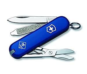 Victorinox Swiss Army Classic SD Cub Scout Pocket Knife, Blue