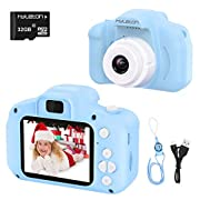 Digital Camera for Kids,hyleton 1080P FHD Kids Digital Video Camera with 2 Inch IPS Screen and 32GB SD Card for 3-10…