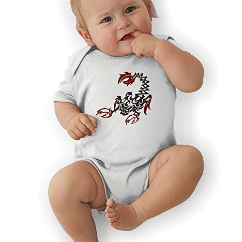 Tribal Scorpion Infant Baby Original 100% Cotton Suit White]()