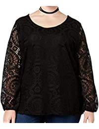 a5235b54f79b65 Trendy Plus Size Lace Top · ING