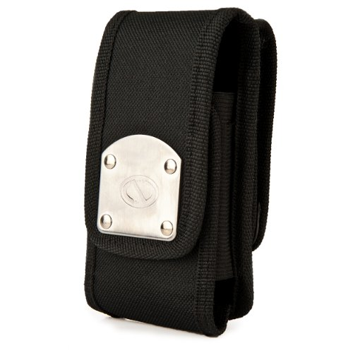 Nazteck Gladiator Holster Carrying Case for Kyocera Torque / Infobar / Miraie / DuraScout / Hydro Air / Hydro Wave / DuraForce, Black (Scout Accessories Kyocera Dura)