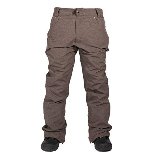 10k Mens Outerwear Pant (Ride Snowboard Outerwear Men's Madrona Pants, Brown Melange, Large)