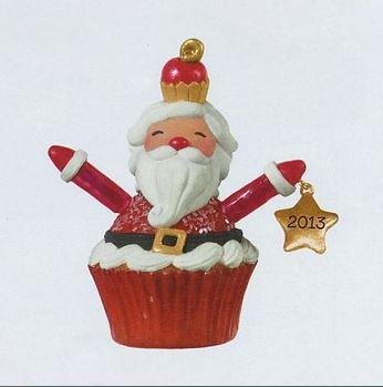 - Santa Cupcake 2013 Hallmark Ornament