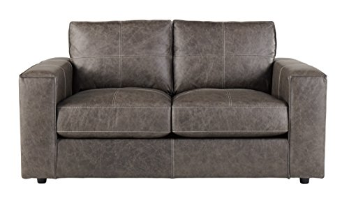 nature Design - Trembolt Contemporary Upholstered Loveseat - Smoke Grey ()