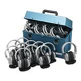 Hamilton Buhl Lab pack w/ 24 HA7 Headphones in Large Carry Case