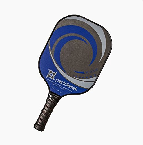 PaddleTek Tempest Wave Pickleball Paddle, New Graphite Polymer Honeycomb Composite