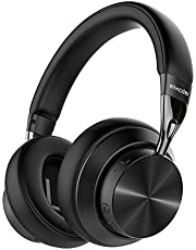 Mixcder E10 Wireless Noise Cancelling Headphones Bluetooth 5.0 Foldable Over Ear Headphones with aptX, Quick Charge, Hi-Fi Stereo Sound, 30 Hours Playtime
