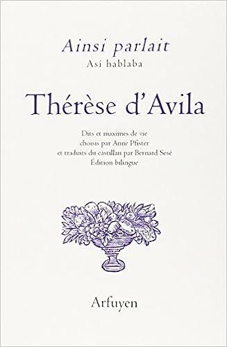Livres gratuits Ainsi parlait Thérèse d'Avila pdf epub