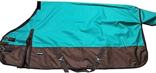 "TGW RIDING 1200Denier Waterproof and Breathable Horse Sheet Horse Blanket (72"", Turquoise)"