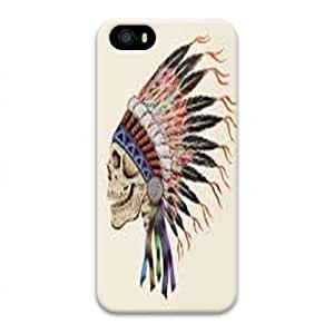 Case For Ipod Touch 5 Cover Case, Discount Indian Style Skull 3D Design Phone Case For Ipod Touch 5 Cover 2015