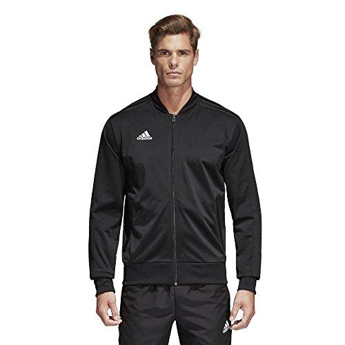 adidas Condivo18 Polyester Jacket, Black/White, Medium