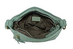 Scarleton Front Lace Crossbody Bag H192653 - Mint