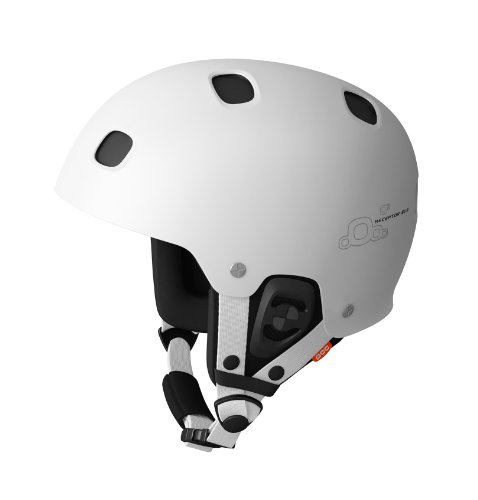 POC Receptor Bug Adjustable Helmet (White/Black, X-Large/XX-Large, 59-62) by POC