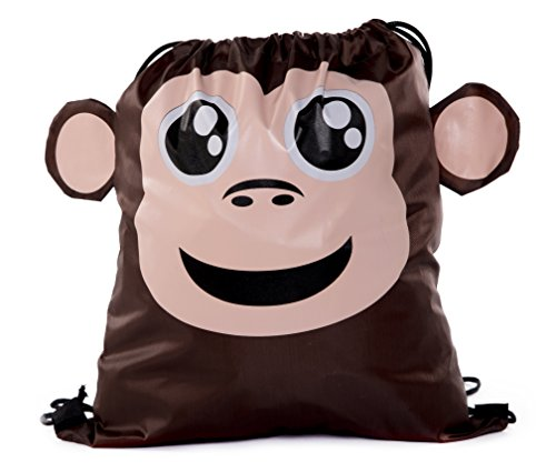 Party Favor Bags for Kids | Animal Drawstring Backpacks, Goodie Bags for Birthday Parties and More By Mato & Hash