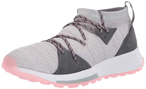 adidas Women's Quesa, Grey/True Pink, 10 M US