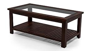 Urban Ladder Claire Sheesham Wood Coffee Table (Mahogany)