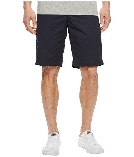 Dickies Men's Flex 11'' Relaxed Fit Wrinkle Resistant Work Shorts, Dark Navy, -