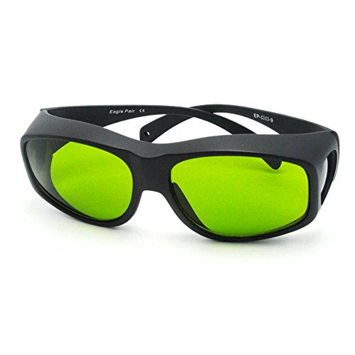 190nm-470nm & 800nm-1700nm Laser Protective Goggles CE safety glasses1064nm OD5+ EP-8-9