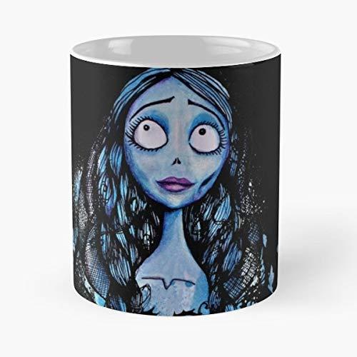 Tim Burton Corpse Bride Emily Blue - Coffee Mug 11 Oz Funny Gift]()