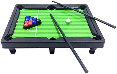 CCLK Los Juegos de Mesa Mini Billar Snooker Conjunto de Juguete Niños Home Game Party Supplies Entre Padres e Hijos: Amazon.es: Deportes y aire libre