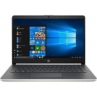 "Newest 2019 Flagship HP 14"" Laptop Intel Pentium Gold 4GB Ram 128GB SSD Ash Silver Keyboard Frame (Renewed)"