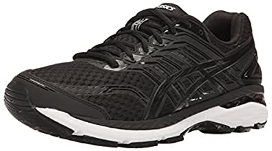 ASICS Men's GT-2000 5 Running Shoe, Black/Onyx/White, 6 M US