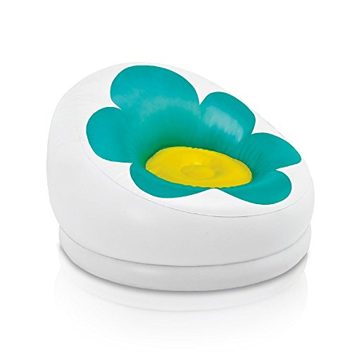 Intex Inflatable Blossom Chair, Turquoise by Intex Marketing (Image #1)